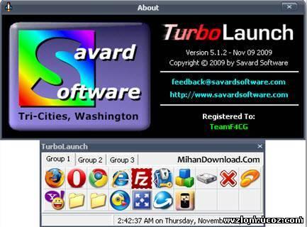 TurboLaunch%20v5.1.2 ساختن میانبر از برنامه ها و پوشه ها جهت دسترسی